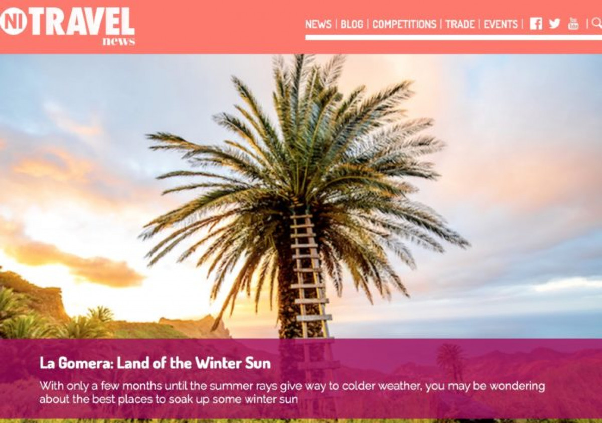 Publicaciou0301n sobre La Gomera en In Travel News 2018 696x489