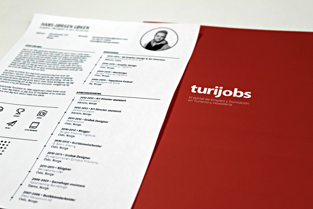 CV Turijobs low