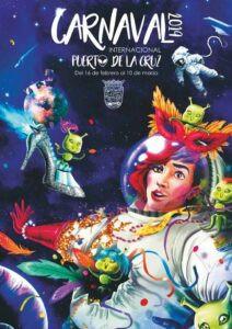 Cartel Carnaval Puerto 2019