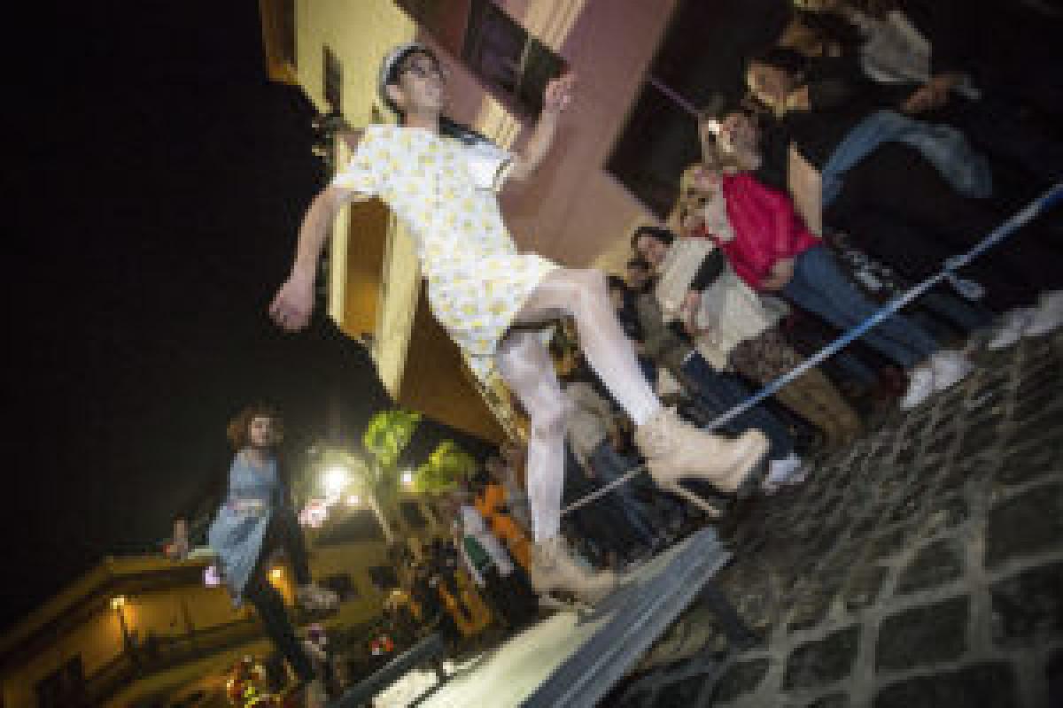 Mascarita Ponte el Tacon